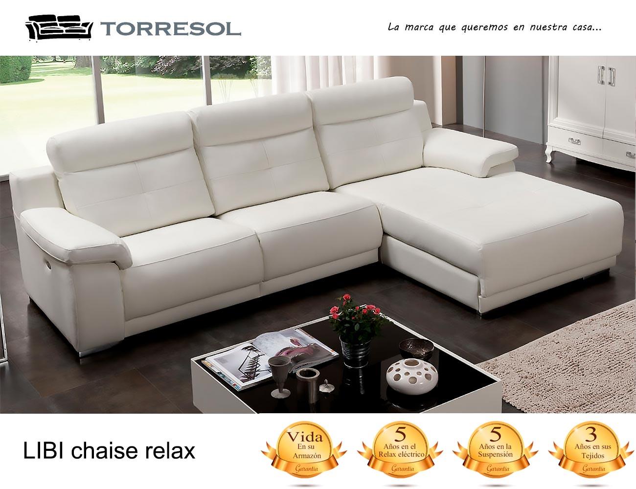 Sofa libi torresol en piel