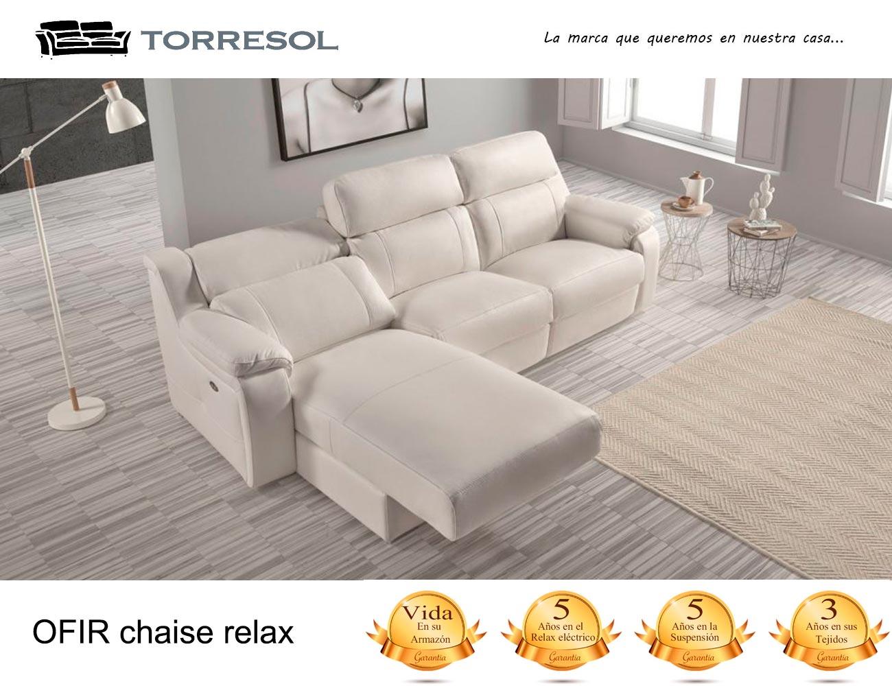 Sof ofir de torresol en piel 23769 factory del mueble - Factory del sofa sevilla ...
