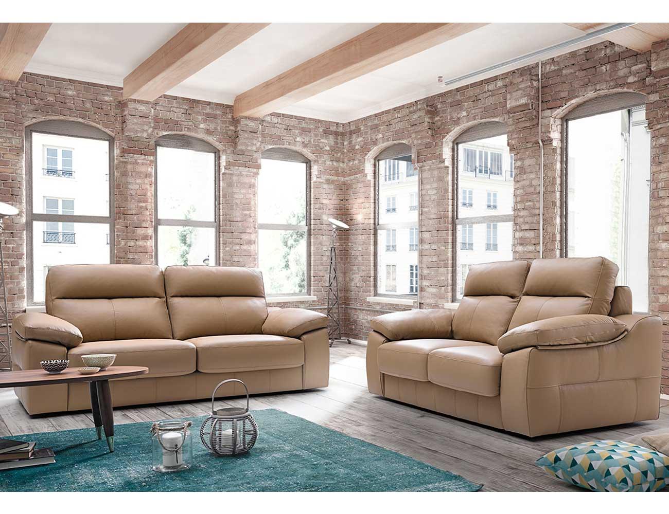 Sofa pedro ortiz piel 3 plazas 2
