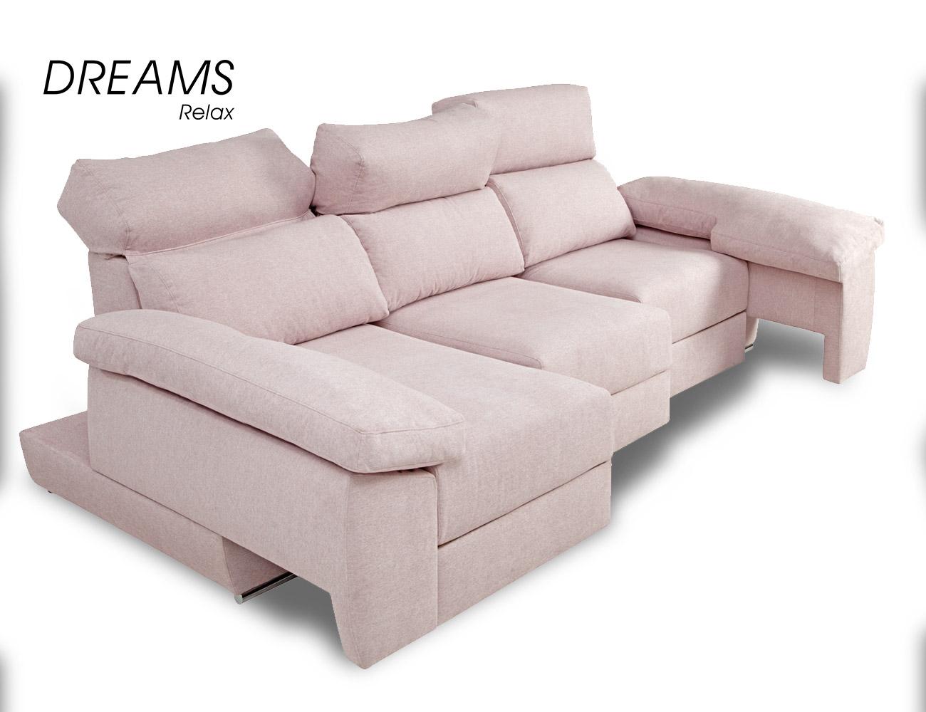 Sofa rosa chaiselongue 1