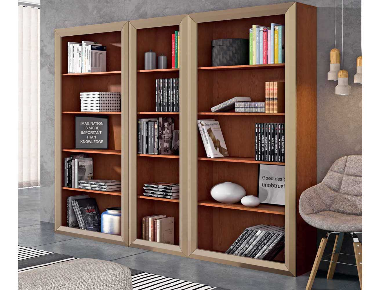 Torre libreria estanteria salon comedor mueble1