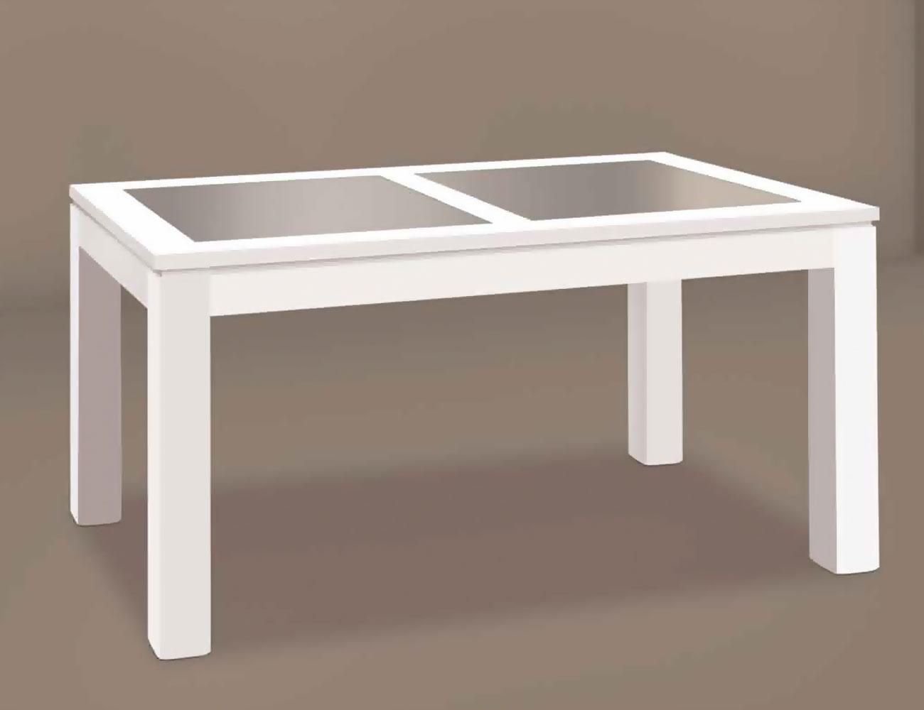 Mesas de comedor de madera y cristal mesa base de madera - Mesa comedor cristal y madera ...