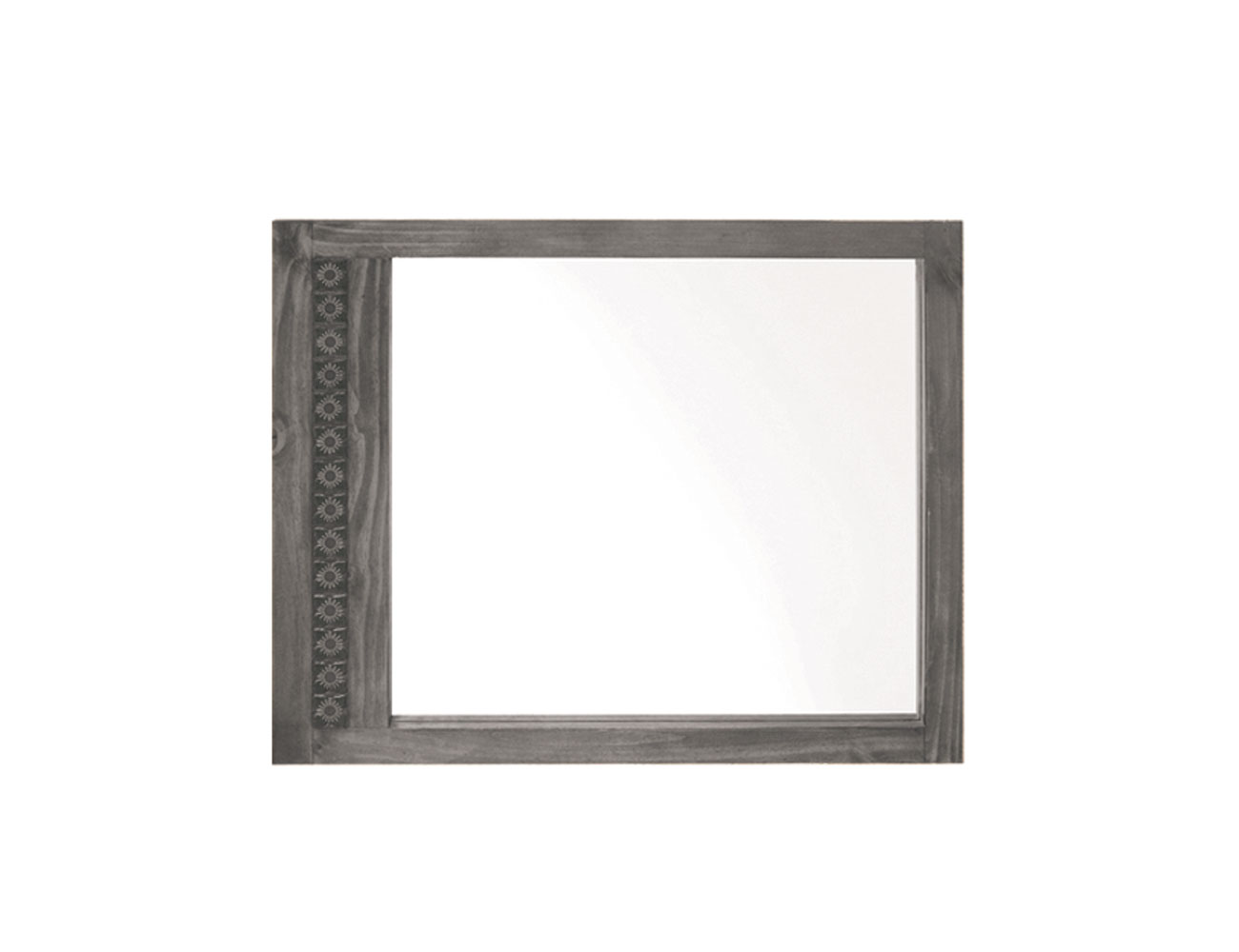 1920702 marco espejo taxco girasol madera 100 80