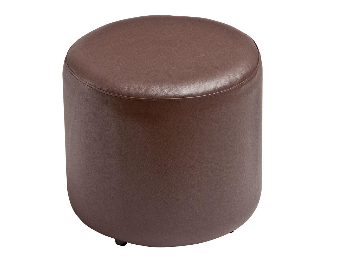 24 puff redondo chocolate6