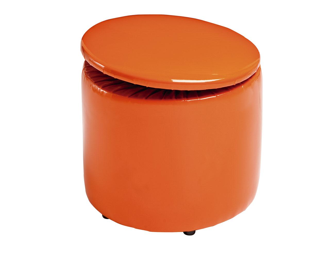 25 redondo abatible naranja