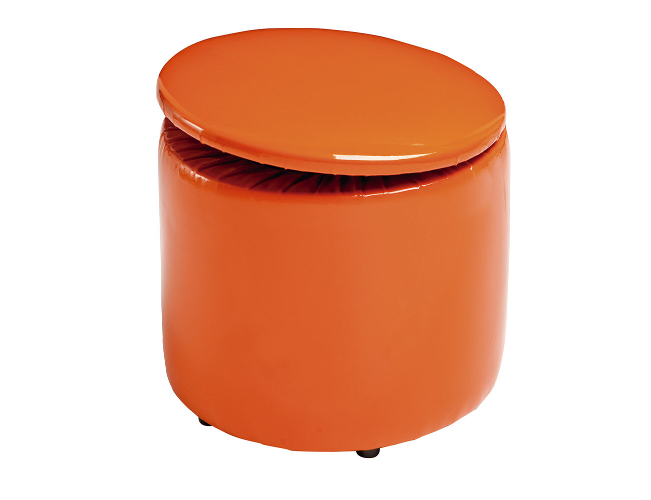25 redondo abatible naranja1