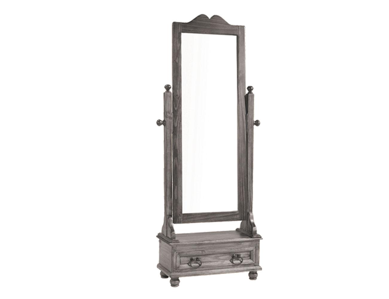 2510301 espejo vestidor sonora madera 70 190 33