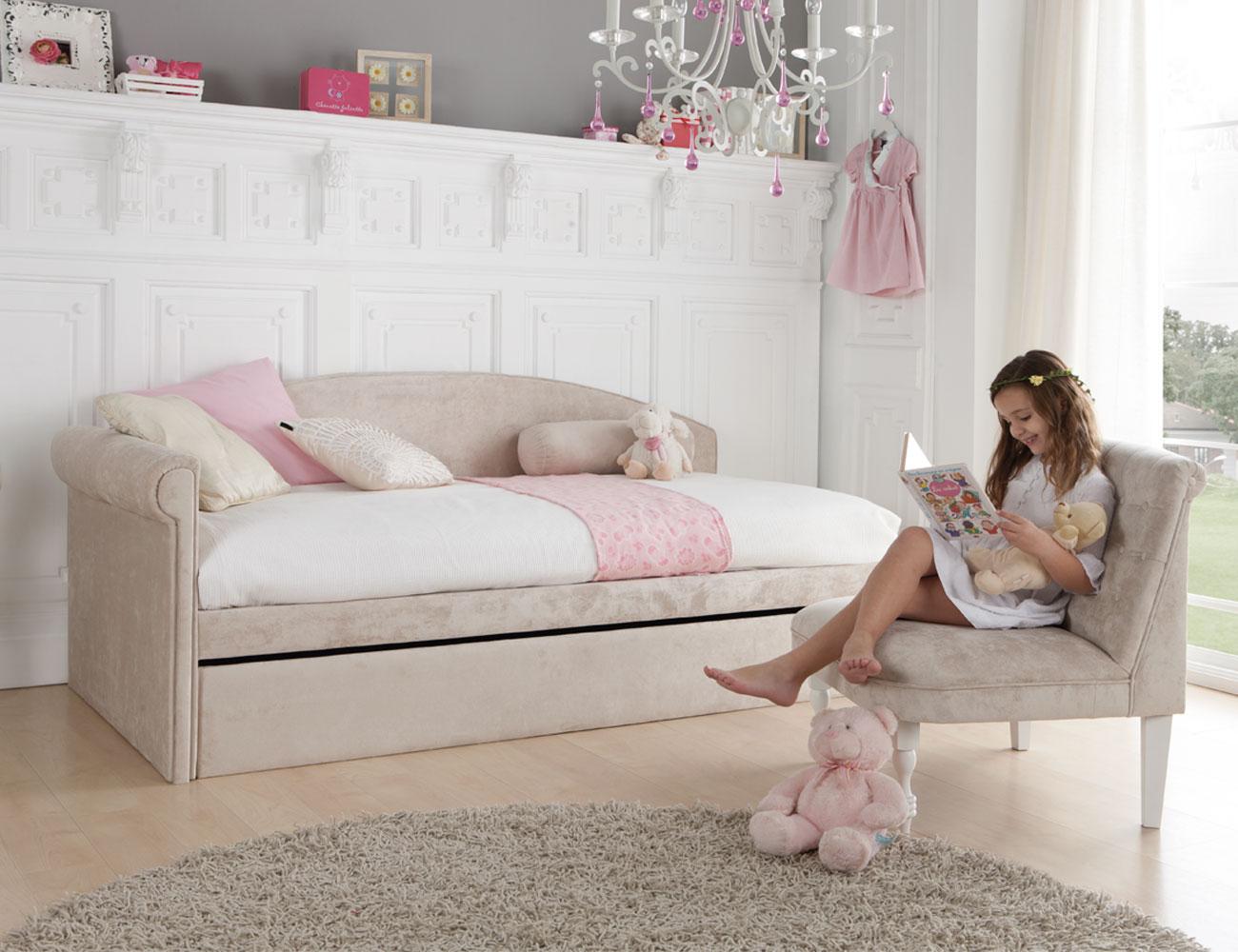 287 cama nido romantica