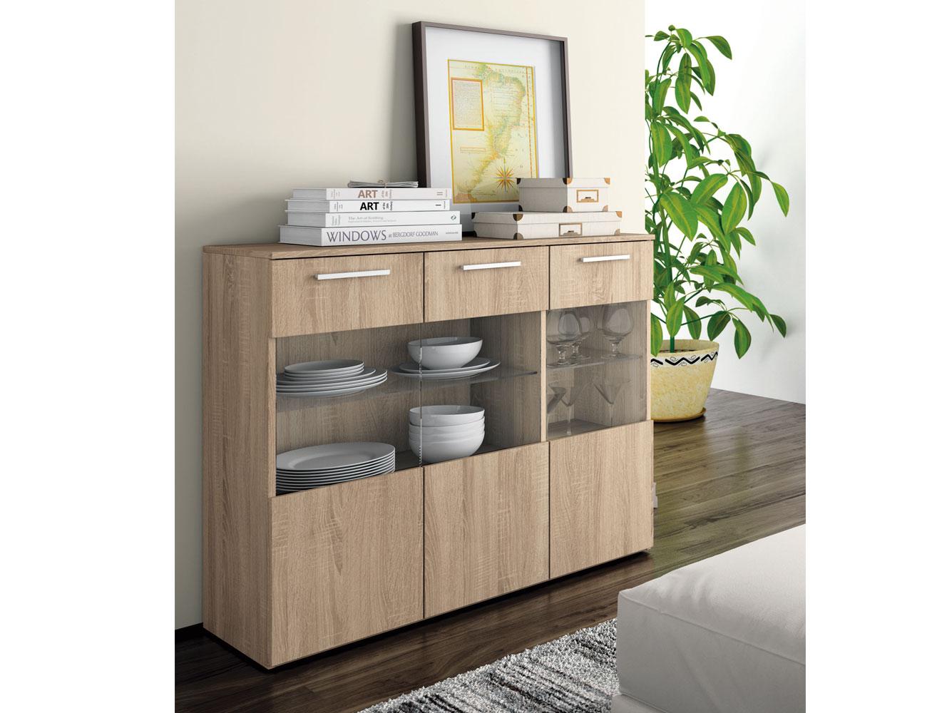 Mueble aparador de oficina o despachos en color cambrian - Factory del mueble sevilla ...