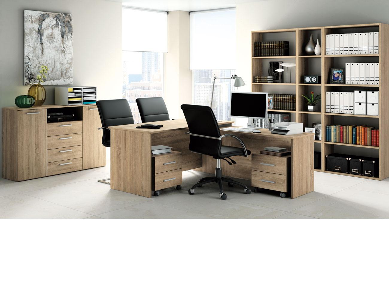 432 mueble despacho nogal