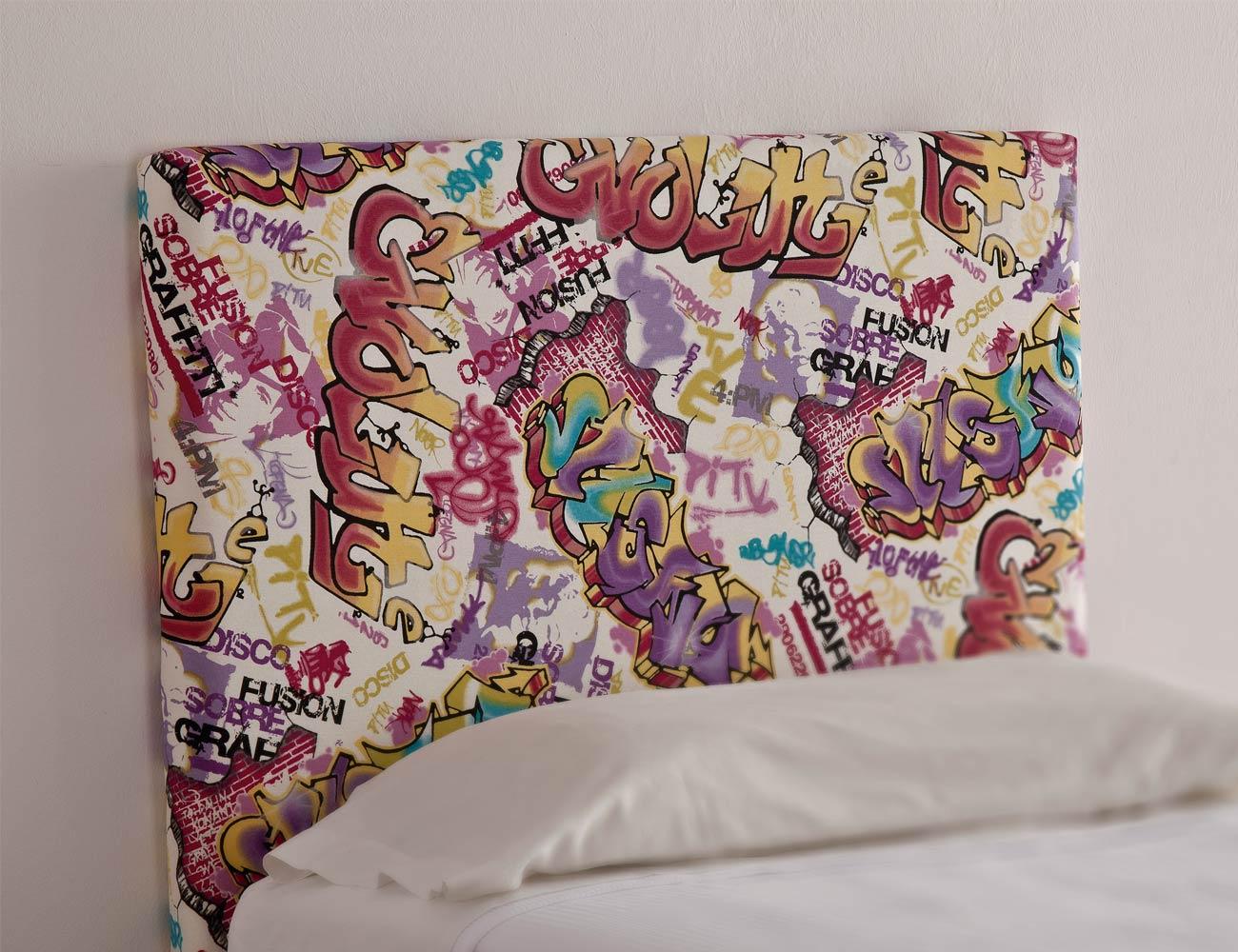 58 cabezal liso tela grafiti