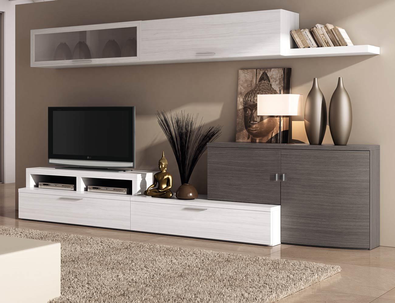 705 mueble salon comedor albian ceniza