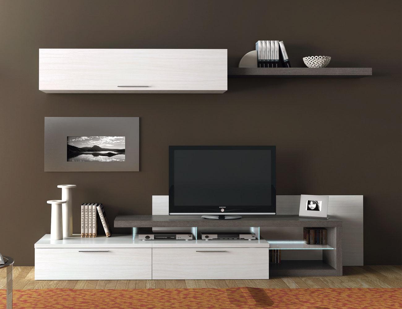 710 mueble salon comedor albian ceniza