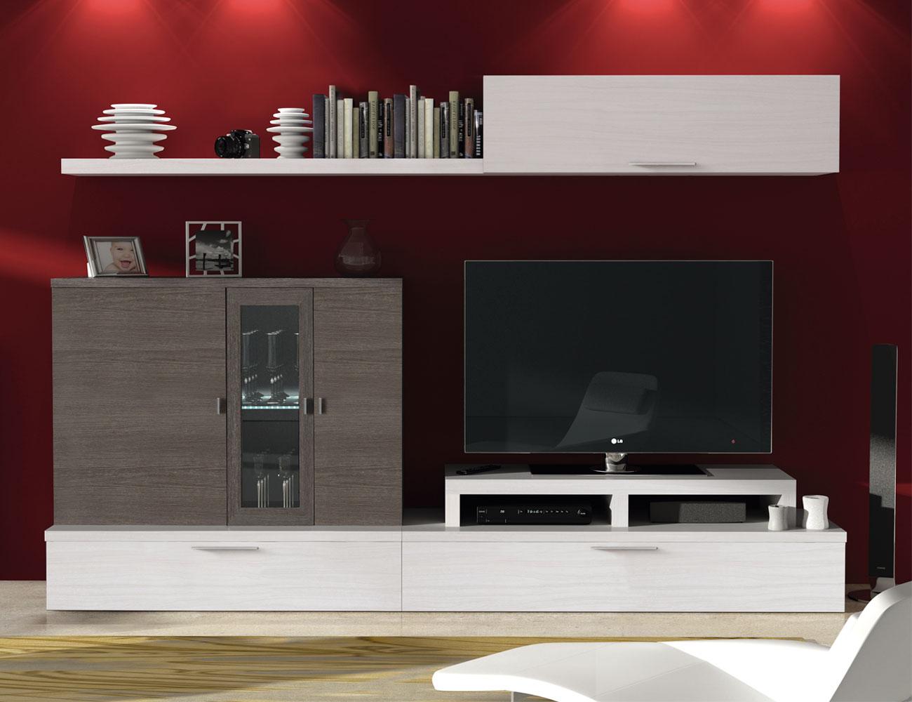 722 mueble salon comedor albian ceniza