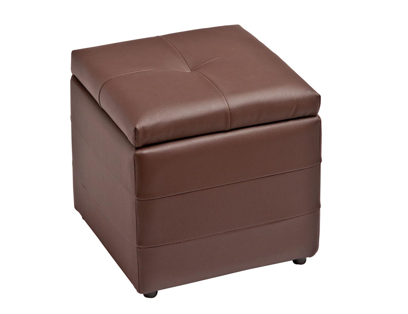 85 cuadrado capitone chocolate
