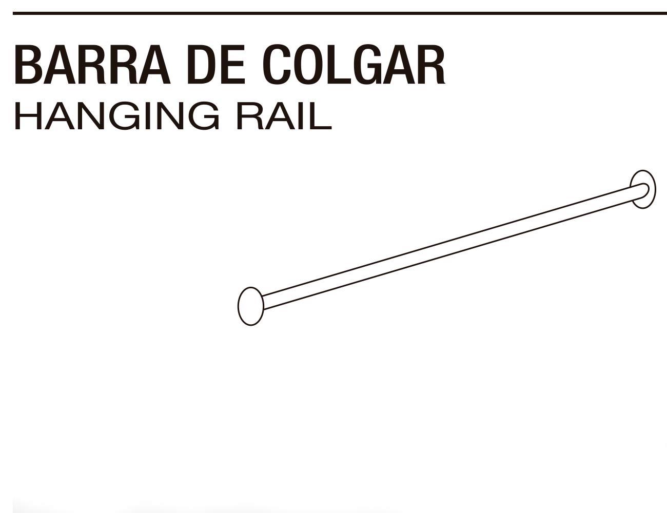 Barra colgar