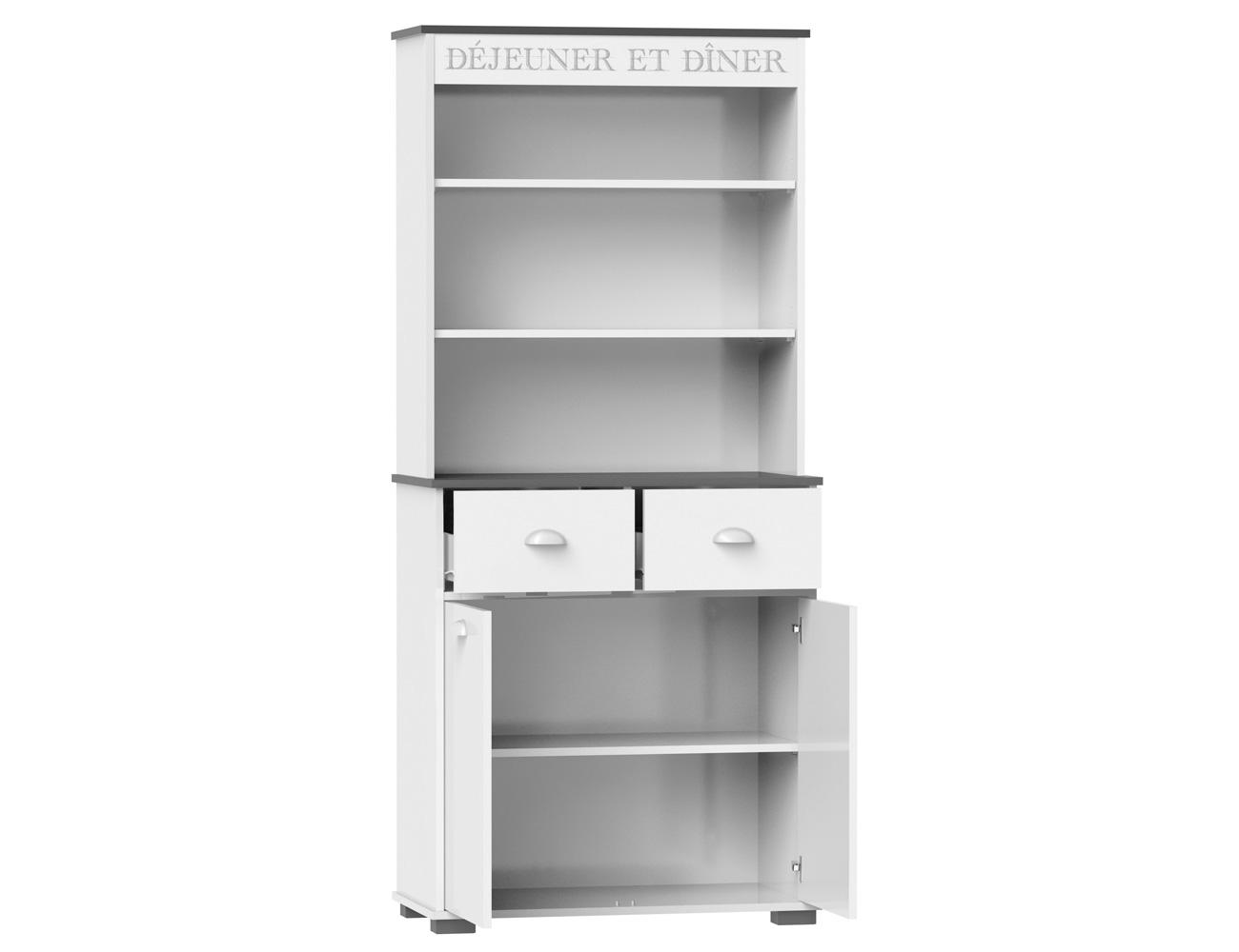 Mueble buffet de cocina de 180 cm de alto 3416 factory for Manual para muebles de cocina