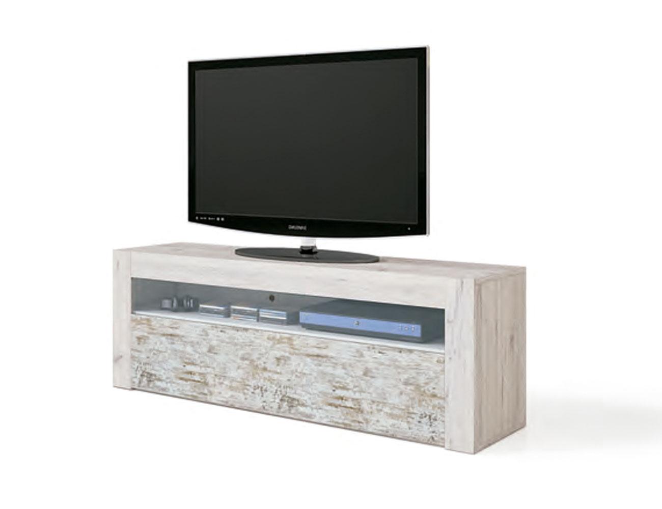 Bajo tv 1p cristal