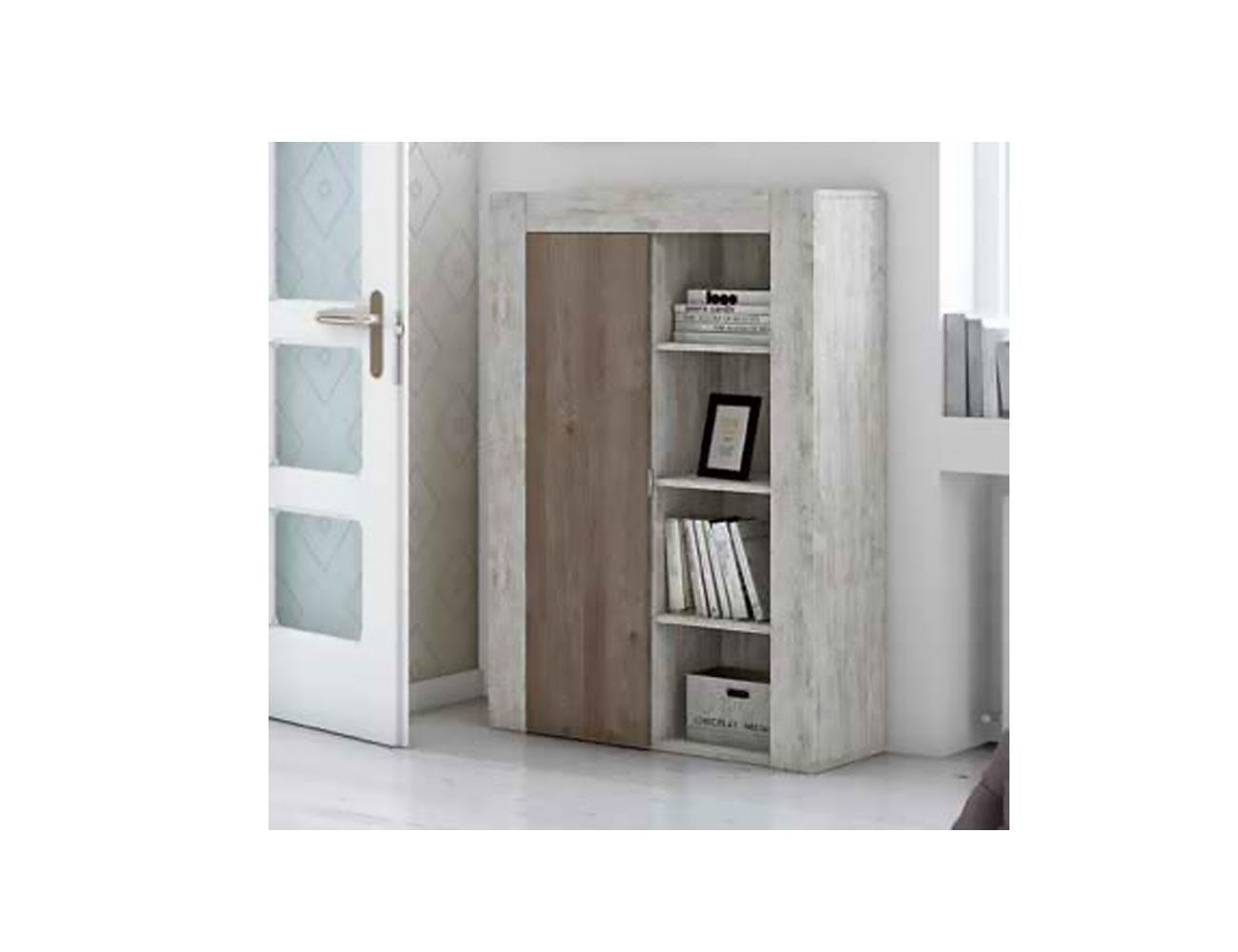 Bodeguero 1p 3 estantes izdo xl1