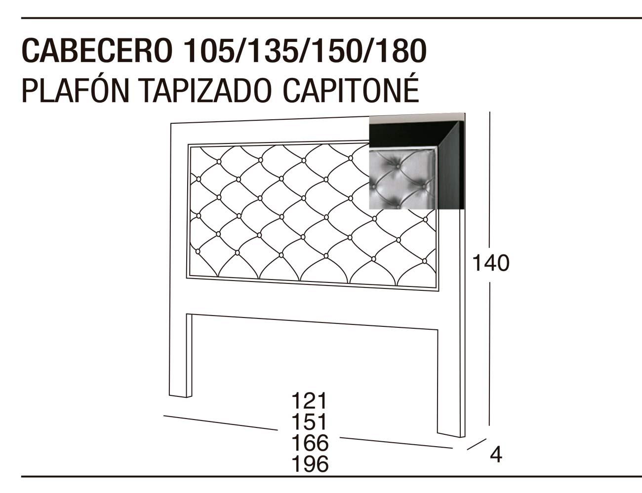 Cabecero 135x150 plafon tapizado1