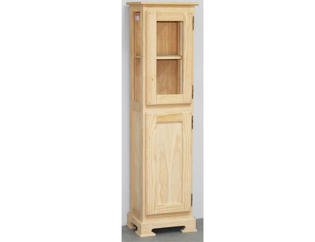 Vitrina ba o marino en madera de pino 18587 factory for Tu factory del mueble