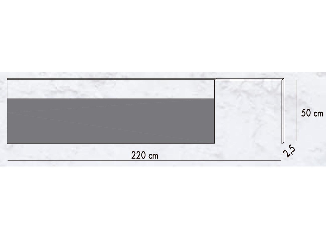 Cabecero matrimonio 200 cm loto