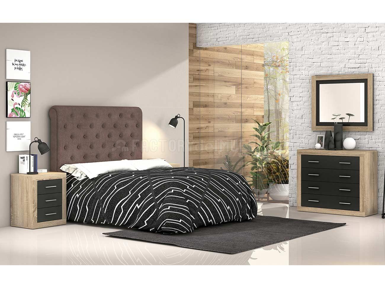 Dormitorio matrimonio moderno 522