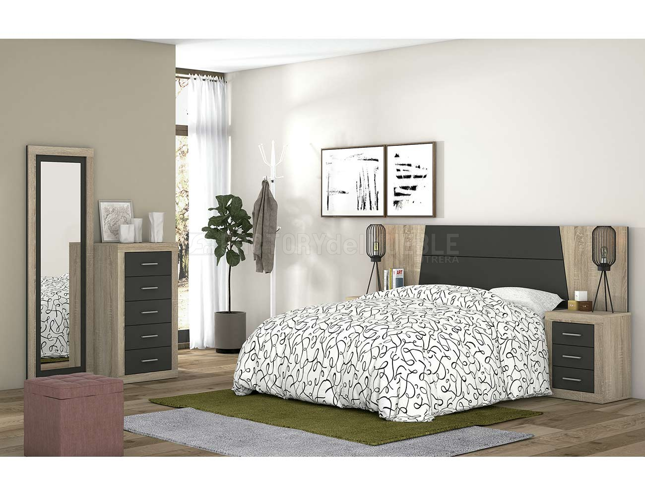 Dormitorio moderno 441