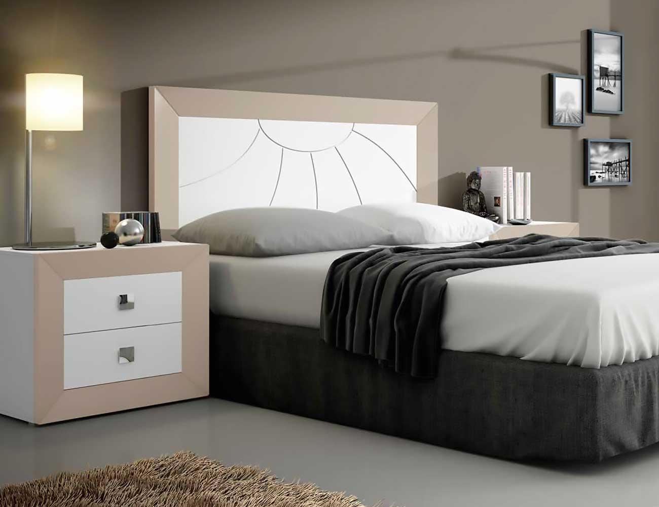 Dormitorio matrimonio moderno cabecero 5