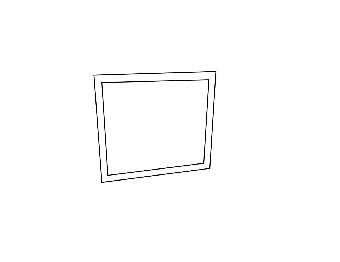 Espejo cómoda 90x2x75 cm