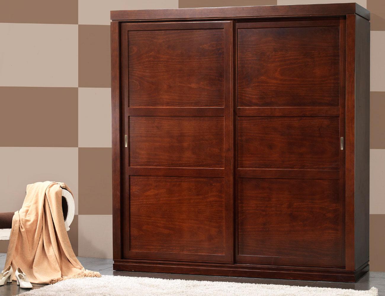 H 20 armario puertas corredera madera
