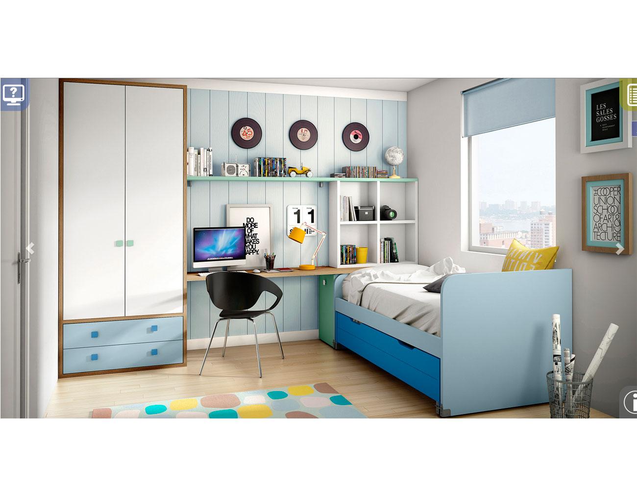 Ih083 dormitorio juvenil