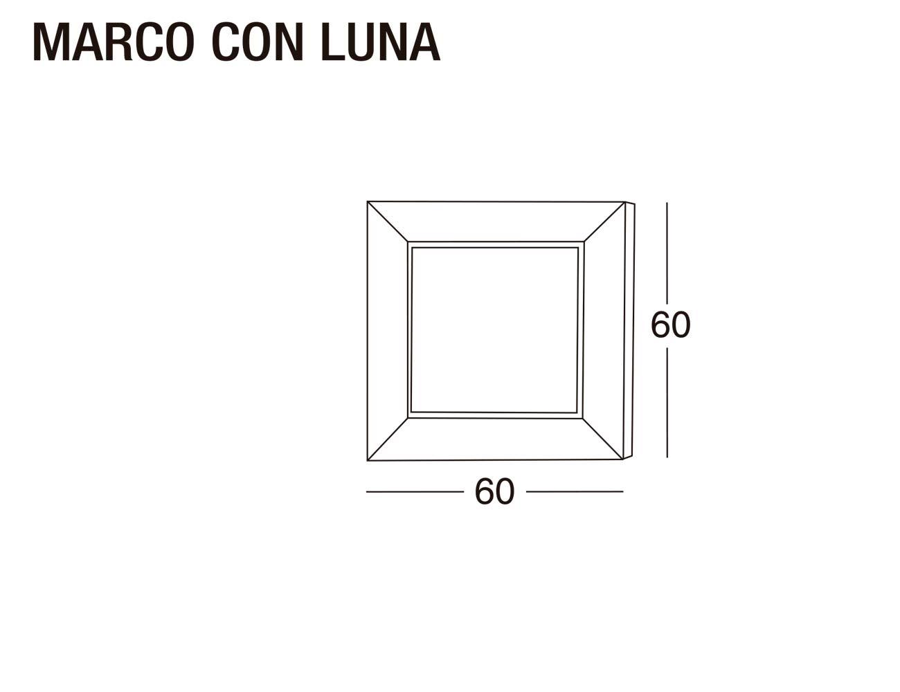 Marco luna 60x60
