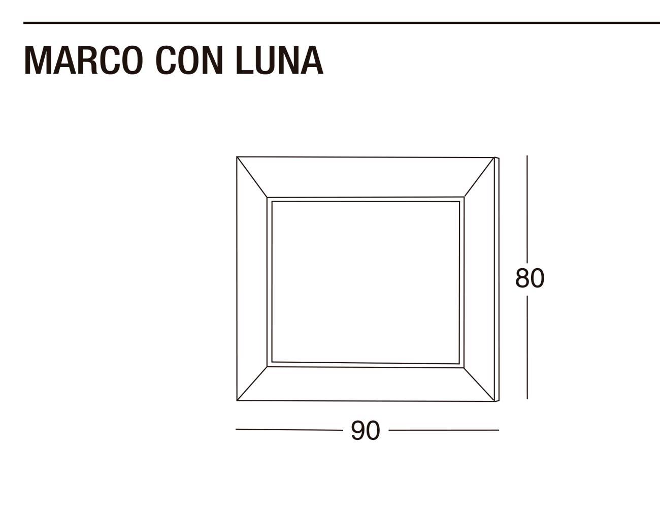 Marco luna 90x80