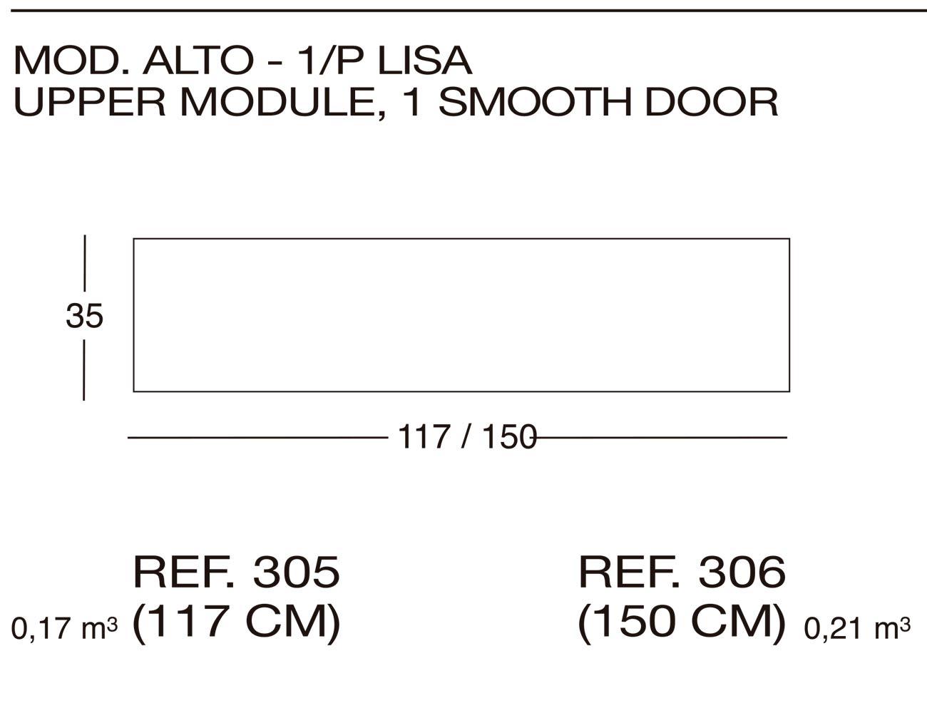 Modulo alto 305