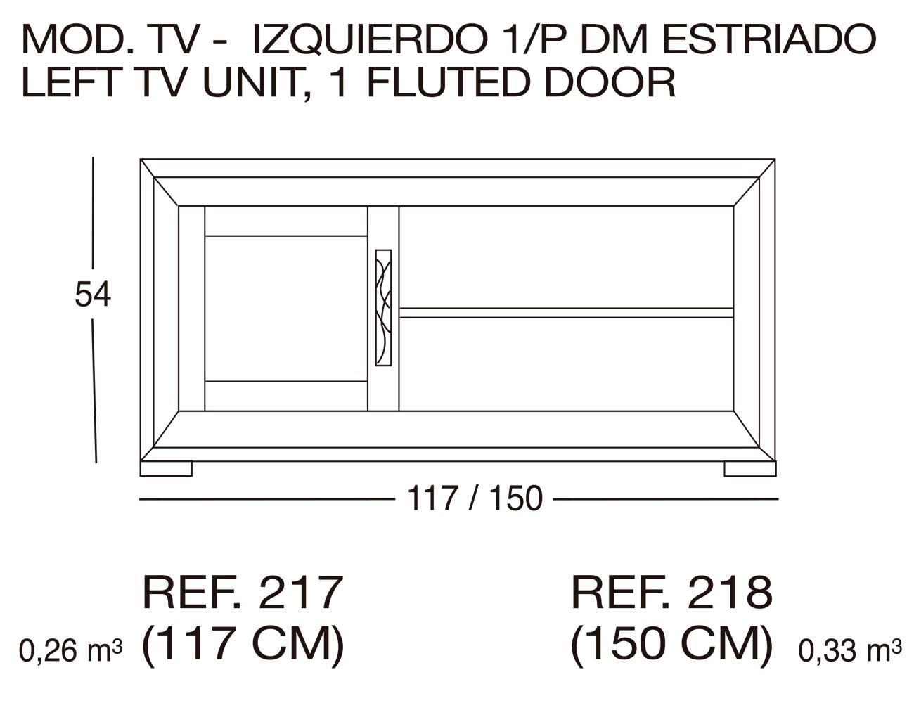 Modulo tv 217