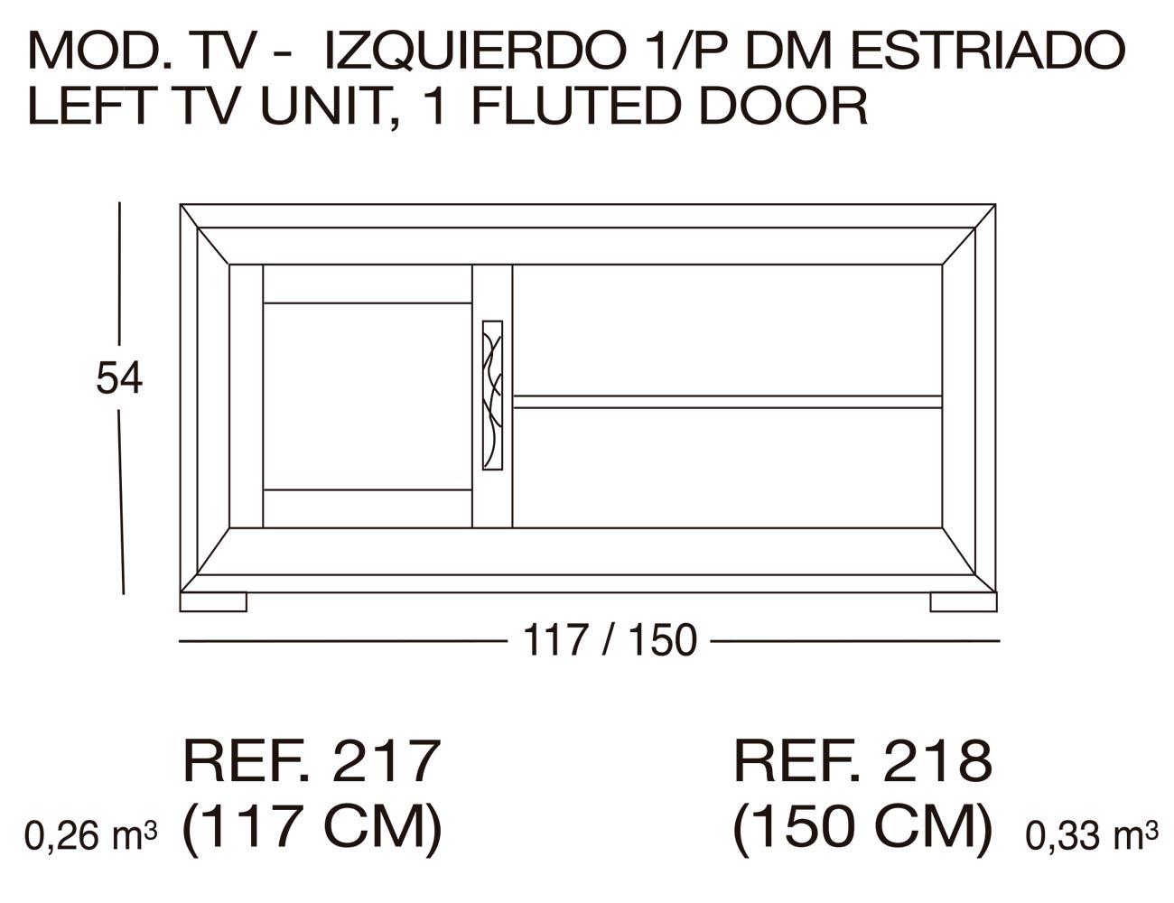 Modulo tv 218