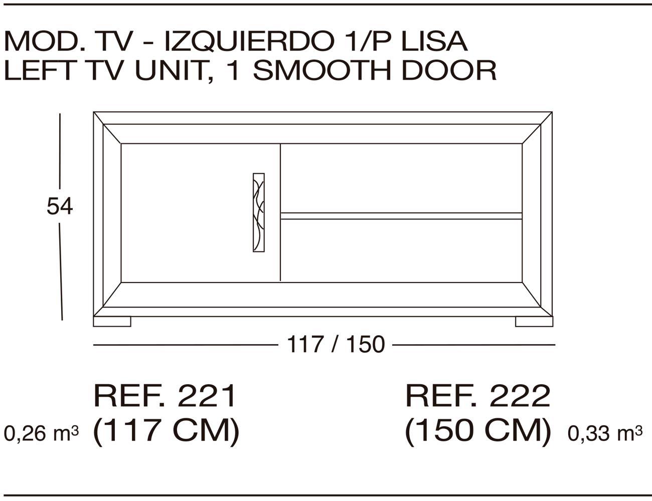 Modulo tv 221
