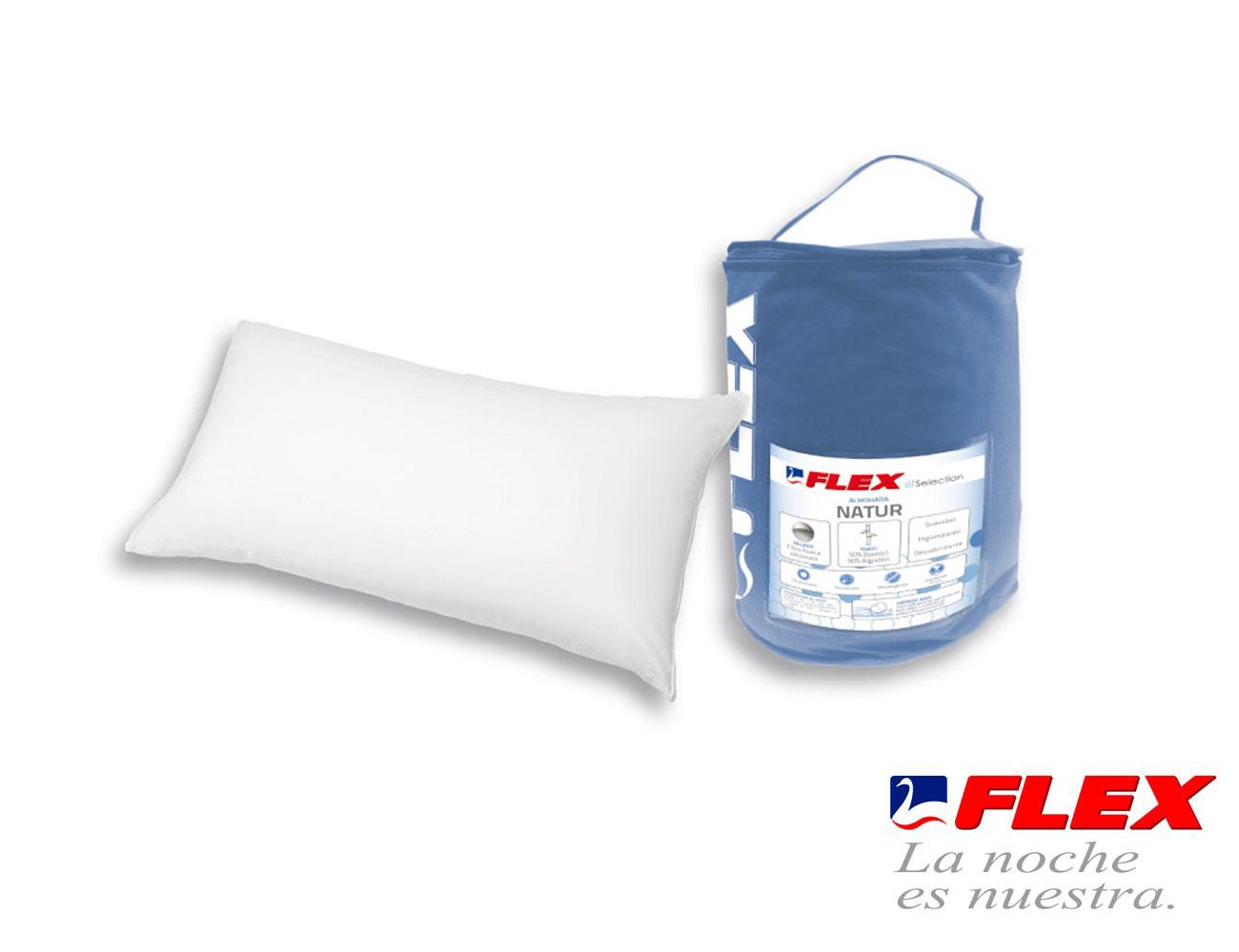 Almohada flex natur fibra6