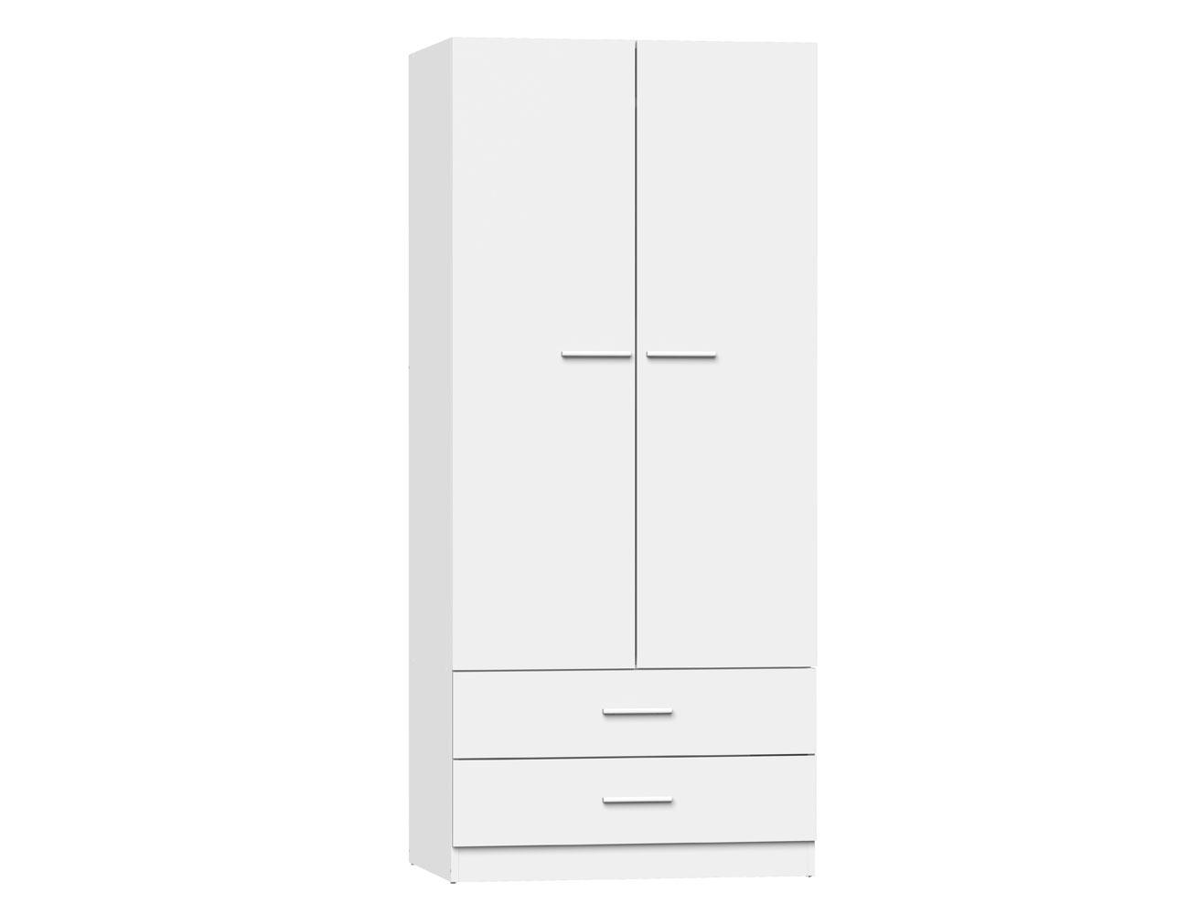 Armario dos puertas blanco 405