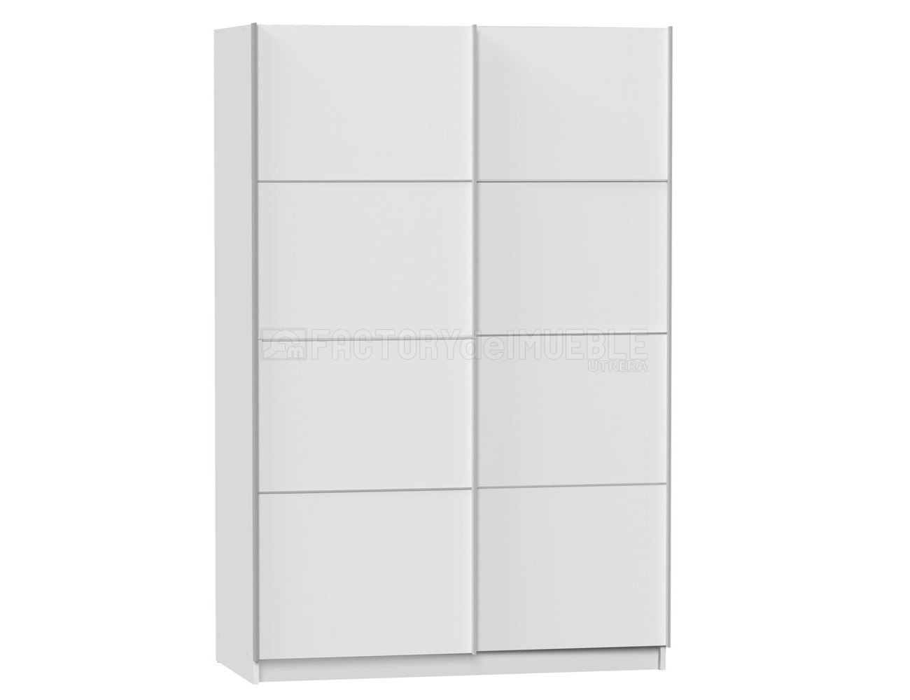 Armario puertas correderas blanco 1