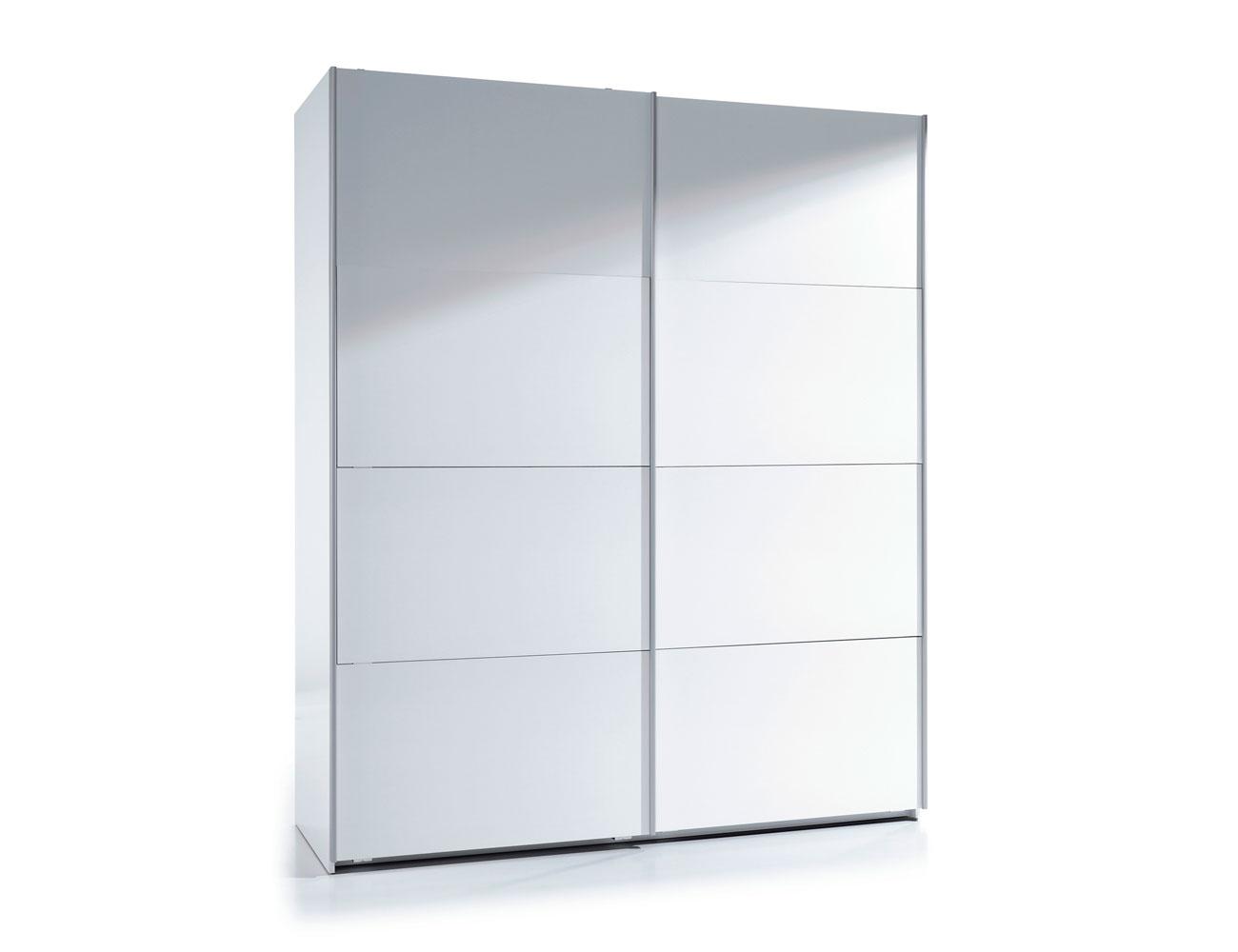 Armario puertas correderas blanco 150 cm