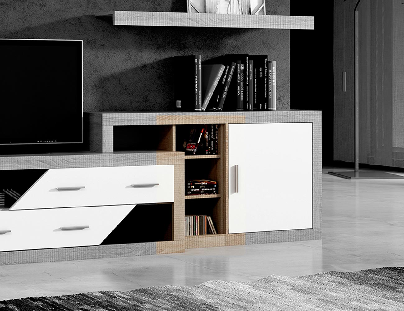 Bajo apilable mueble cambrian