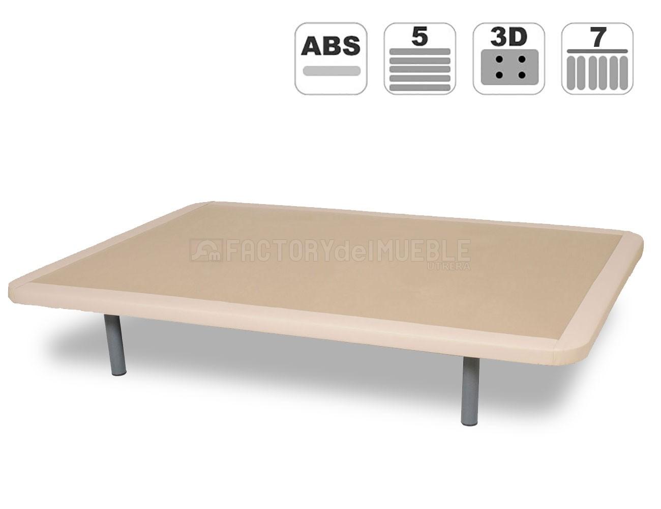 Base tapizada 3d polipiel