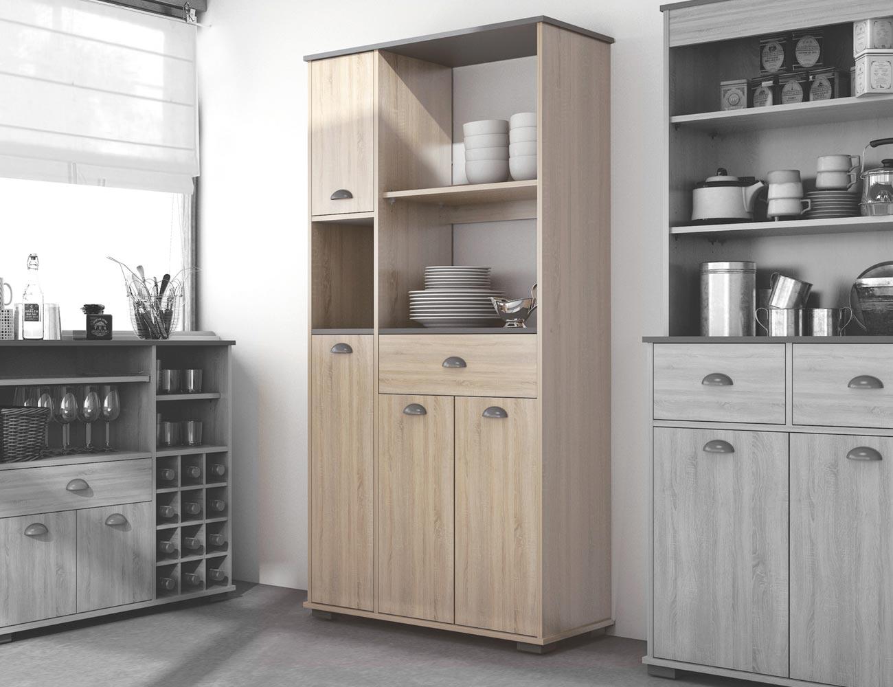 Muebles buffet para cocina planos de cocina buffet en - Buffet cocina conforama ...