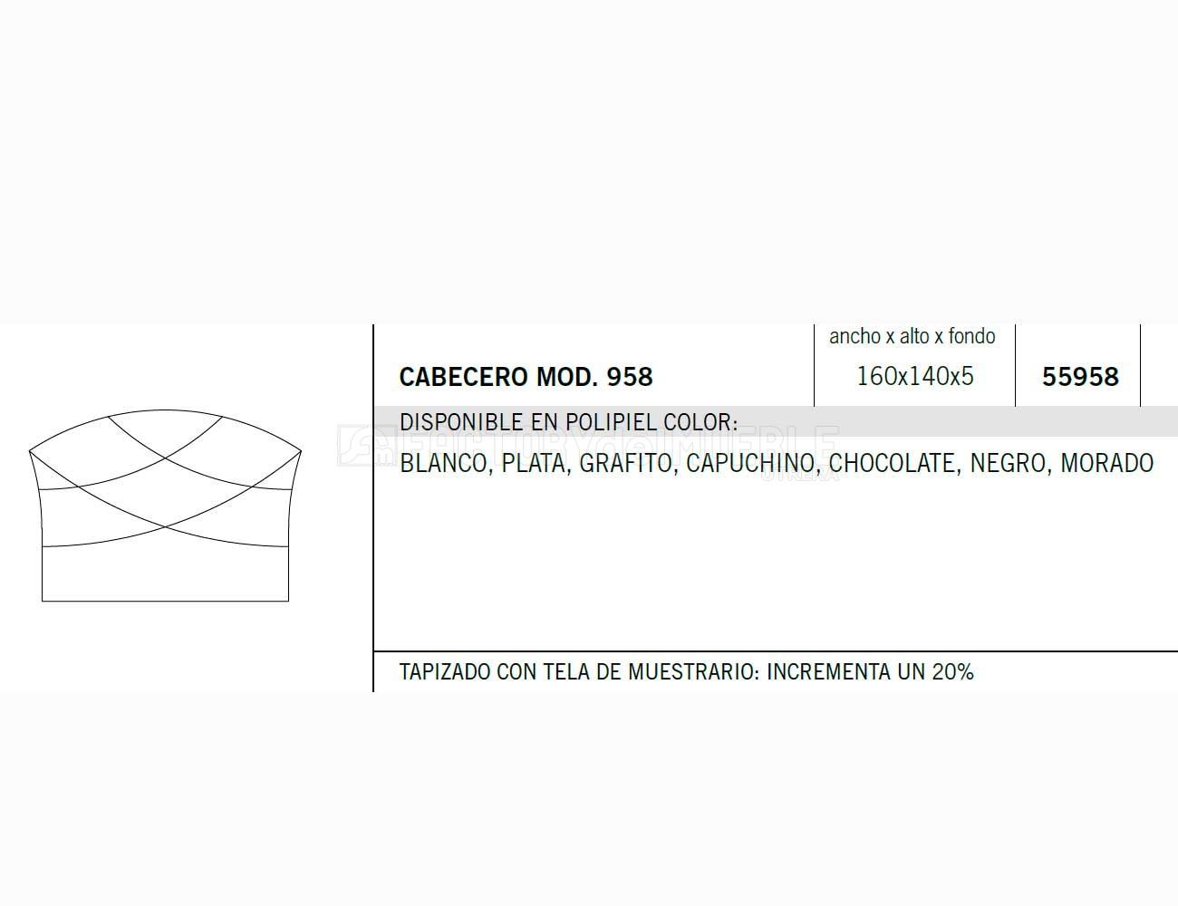 Cabecero 559581