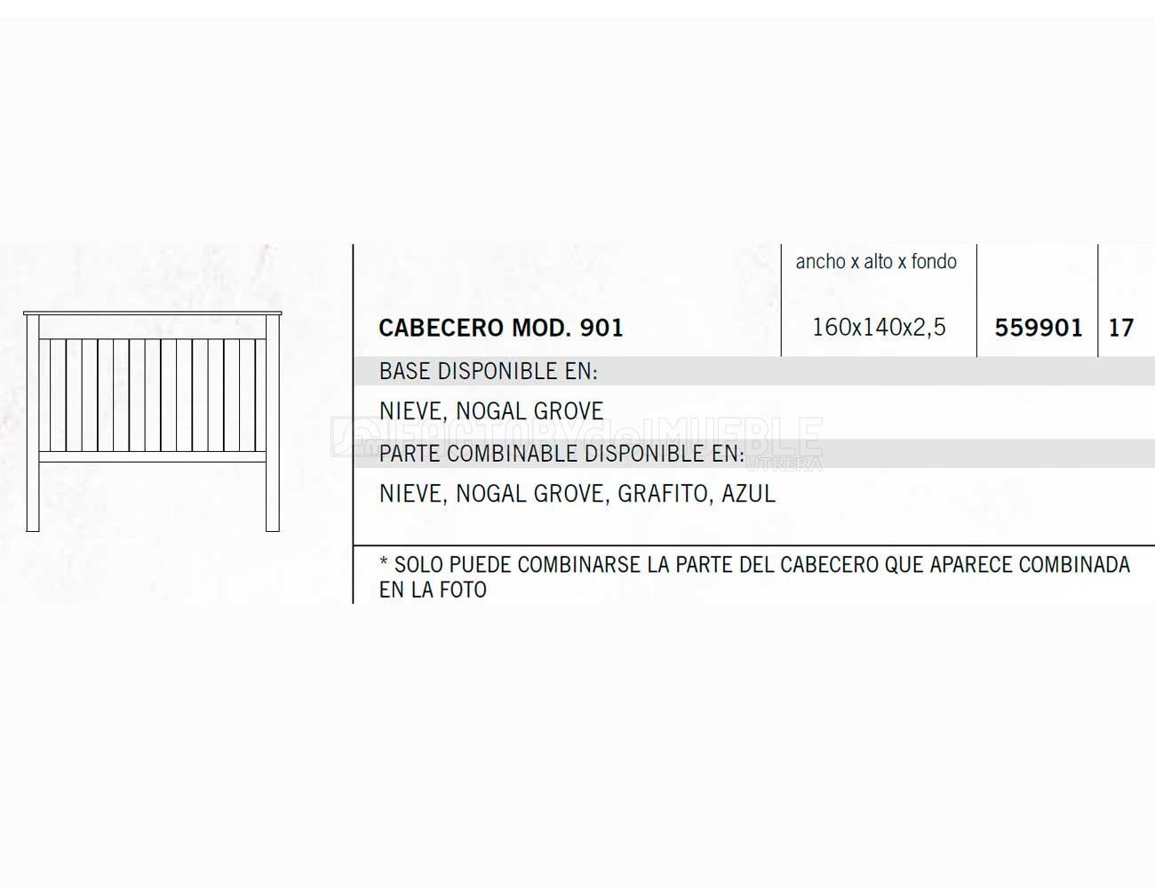 Cabecero 559901