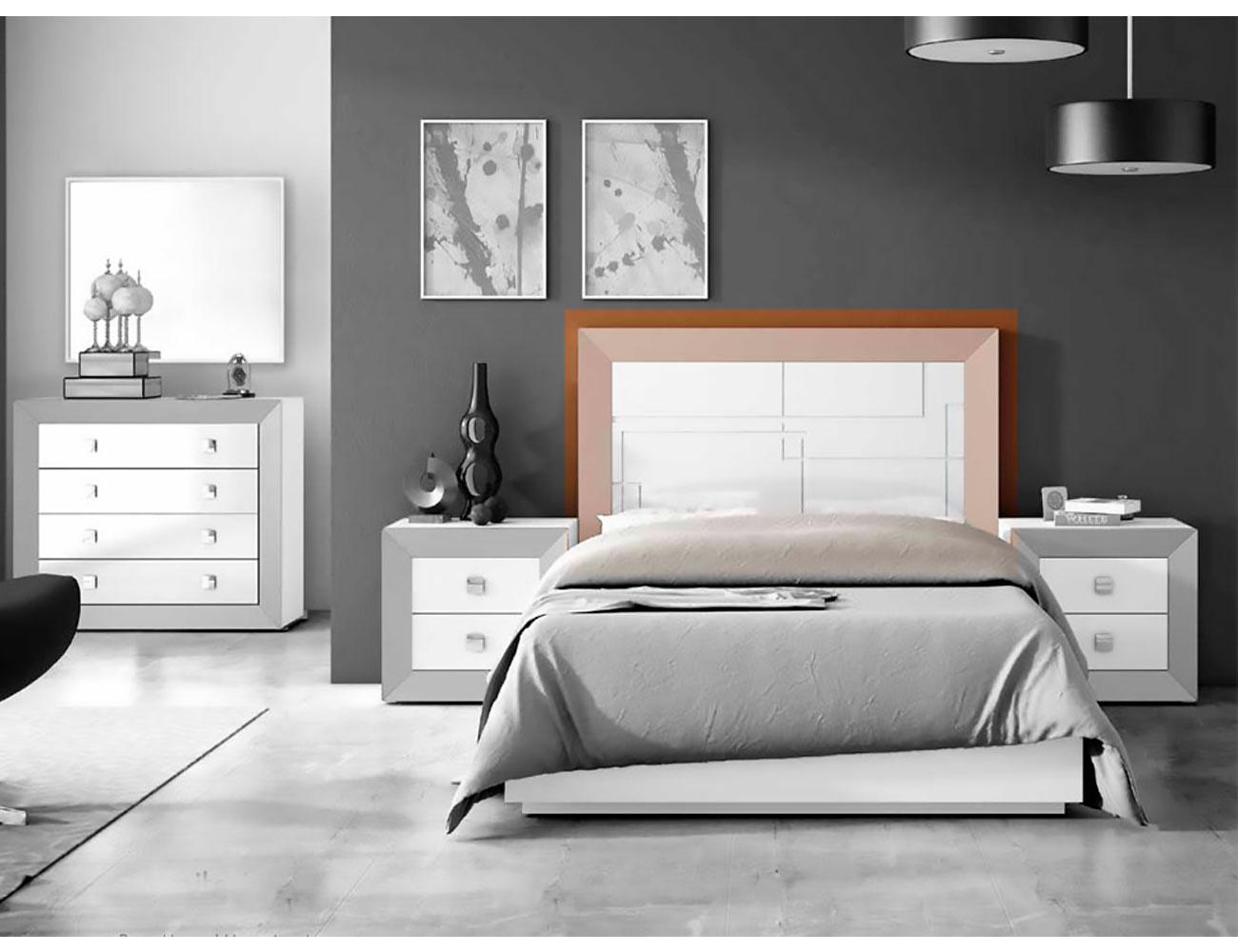 Cabecero cama matrimonio lacado 159 dormitorio 05