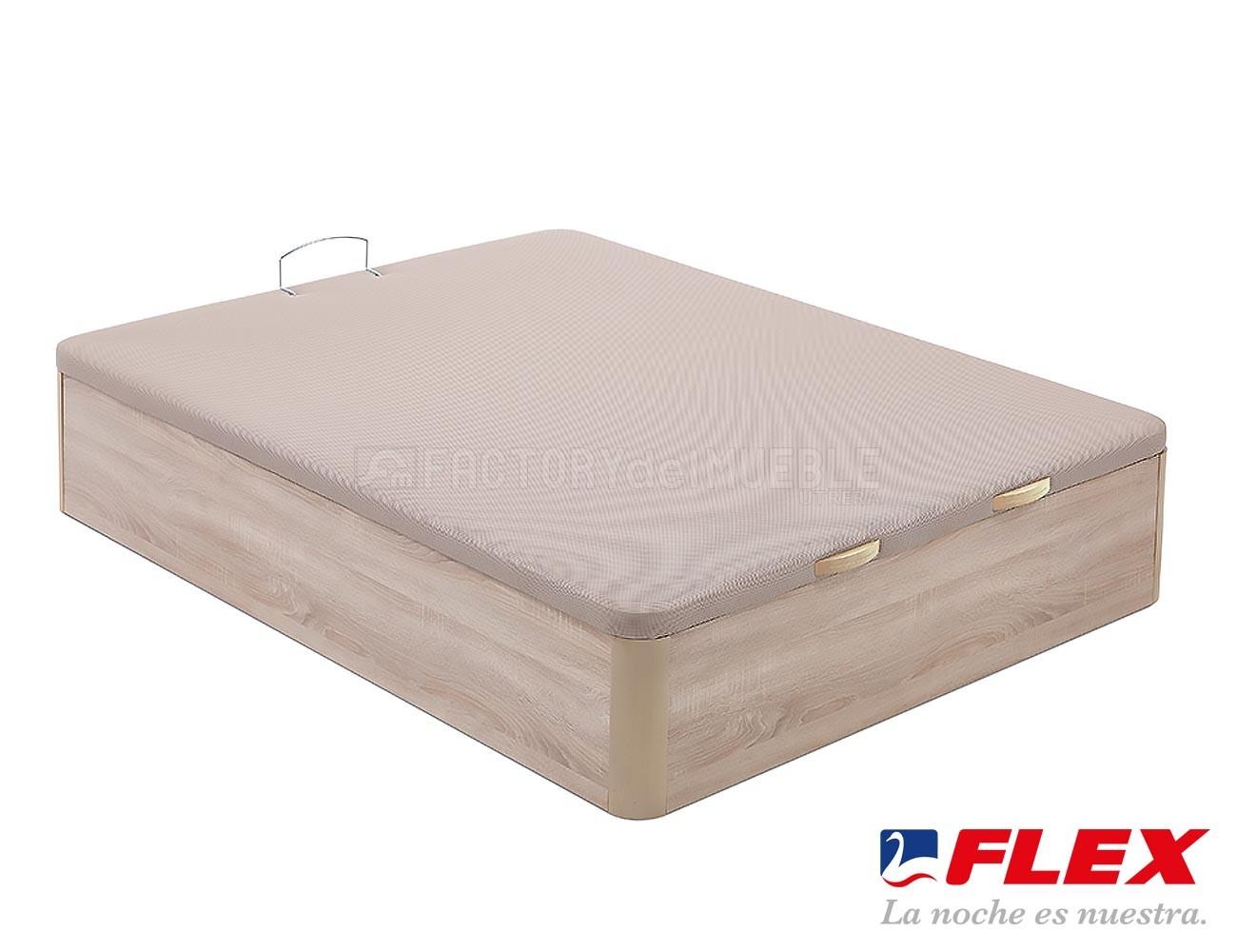 Canap flex abatible madera 7730 factory del mueble utrera for Canape 180x200