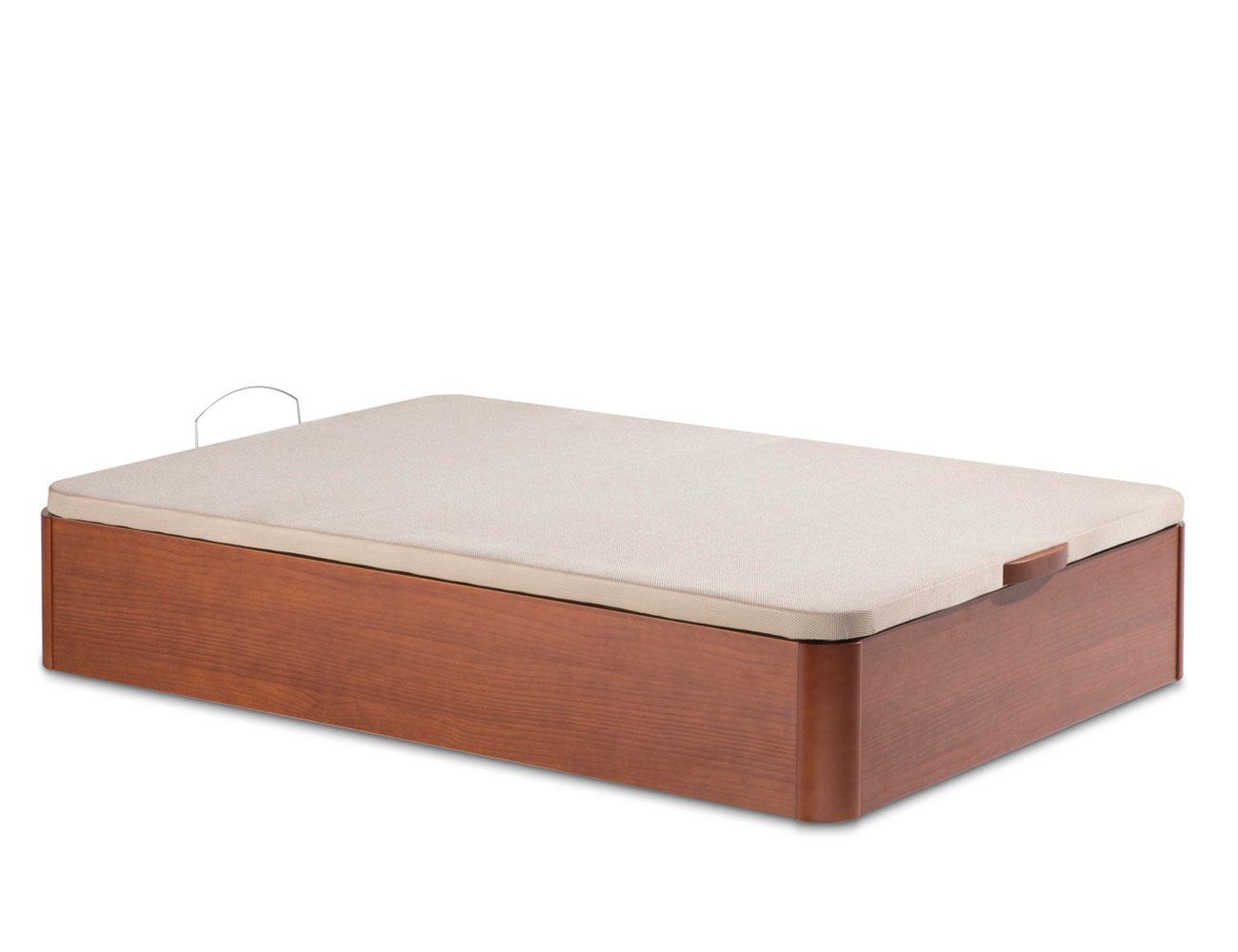 Canape madera base 3d 7320